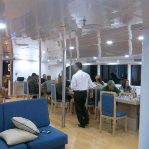 calipso dining room galapagos