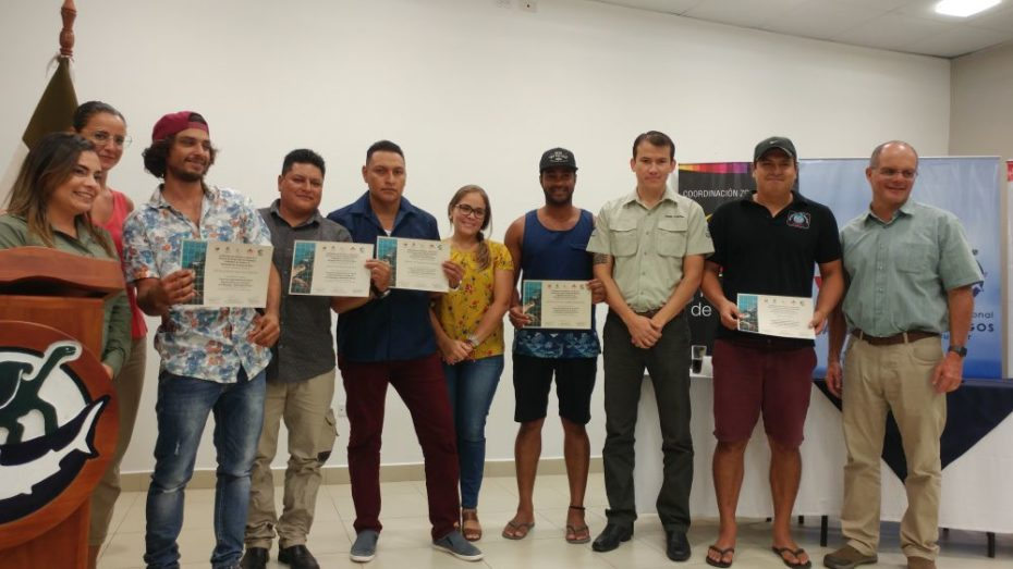 Certified guides with Academy Bay Diving