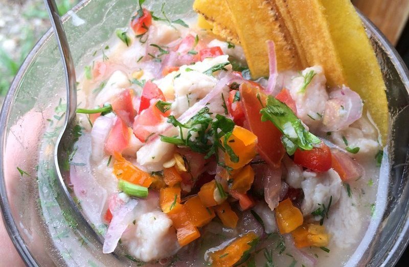 ceviche cooking class galapagos