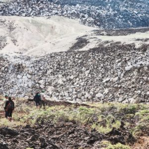 Sulfer mines galapagos adventure package
