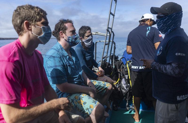 PADI courses academy bay diving galapagos